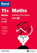 Cover image - Bond Maths 11+ Standard Test Papers Pack 2