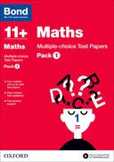 Cover image - Bond Maths 11+ Multiple Choice Test Papers