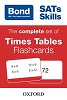 Cover image - Bond 11 plus times tables flashcards