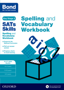 Cover image - Bond SATs Skills Spelling and Vocabulary Stretch Workbook: 10-11+ years
