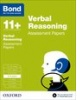 Cover image - Bond Verbal Reasoning Assessment Papers 8-9 years