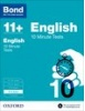 Cover image - Bond English 10 Minute Tests  8-9 years