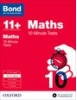 Cover image - Bond Maths 10 Minute Tests 10-11+ years