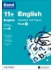 Cover image - Bond English 11+ Standard Test Papers Pack 1