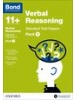 Bond Verbal Reasoning 11+ Standard Test Papers Pack 1 NEW