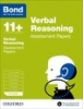 Cover image - Bond Verbal Reasoning Assessment Papers 5-6 years