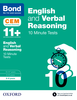 Cover image - Bond 11+: English & Verbal Reasoning: CEM 10 Minute Tests :8-9 years