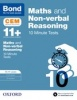 Cover image - Bond 11+: Maths & Non-verbal Reasoning: CEM 10 Minute Tests: 8-9 years