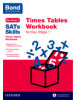 Cover image - Bond SATs Skills: Times Tables Workbook for Key Stage 1